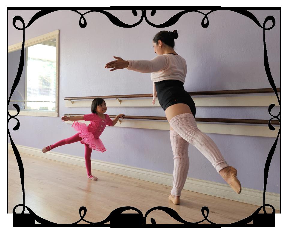 Sara Vizcarrondo Teaching Ballet