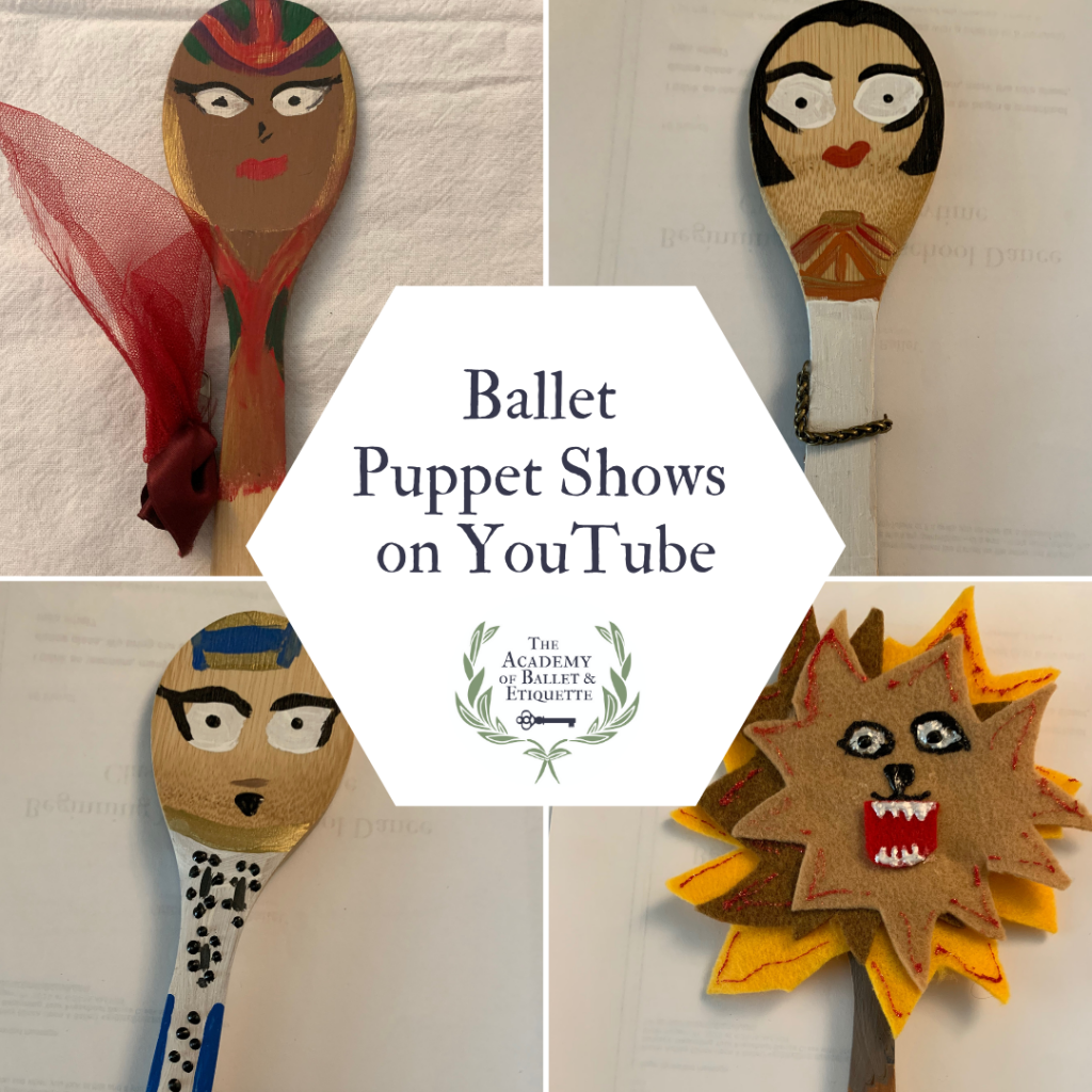 Spoon Puppets for Ballet